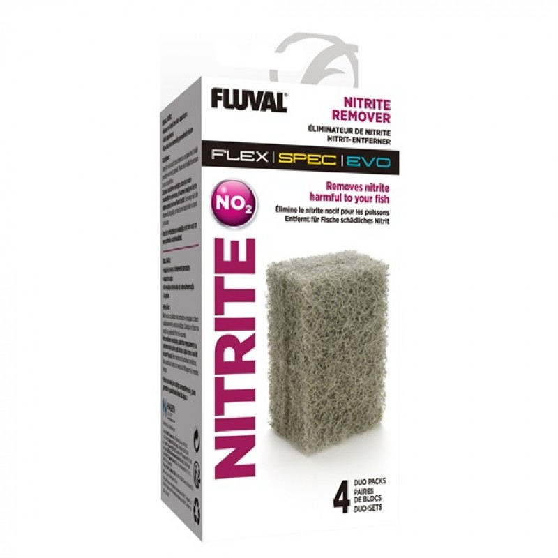 Fluval Nitrite Remover - 4 x Duo-Packs A1335