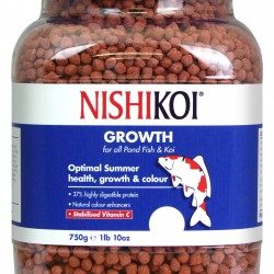 Nishikoi Growth Medium Pellets - 750g