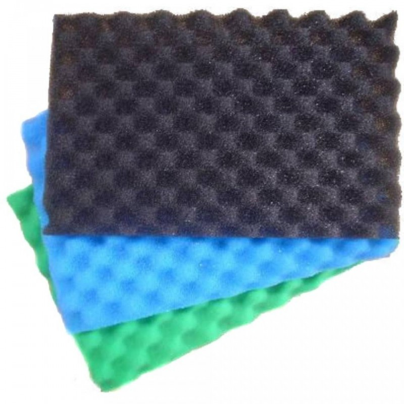 3 Layer Pond Filter Foam Set 17 x 11