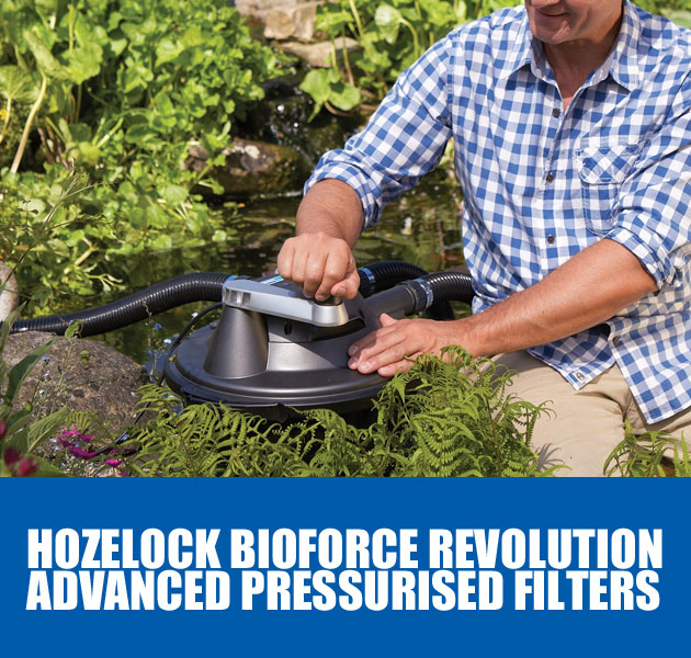 Hozelock Bioforce Revolution Pond Filters