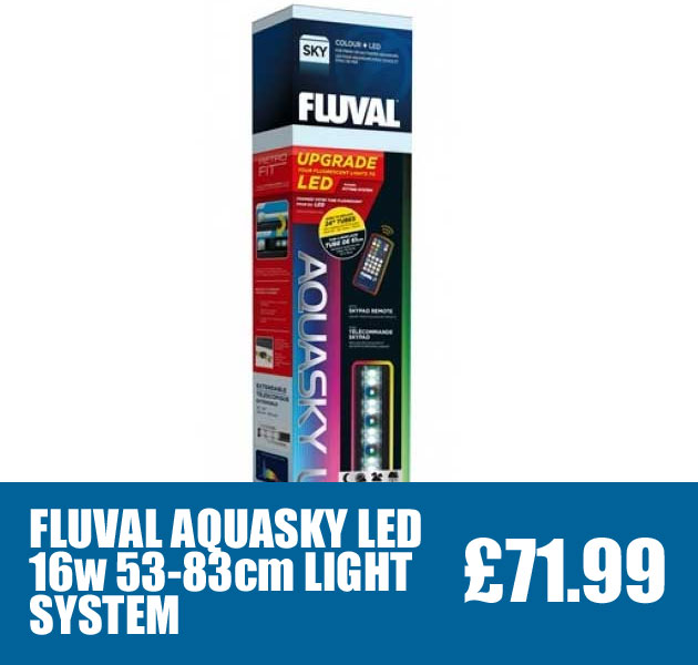 FLUVAL AQUASKY 16W LED LIGHT SYSTEM