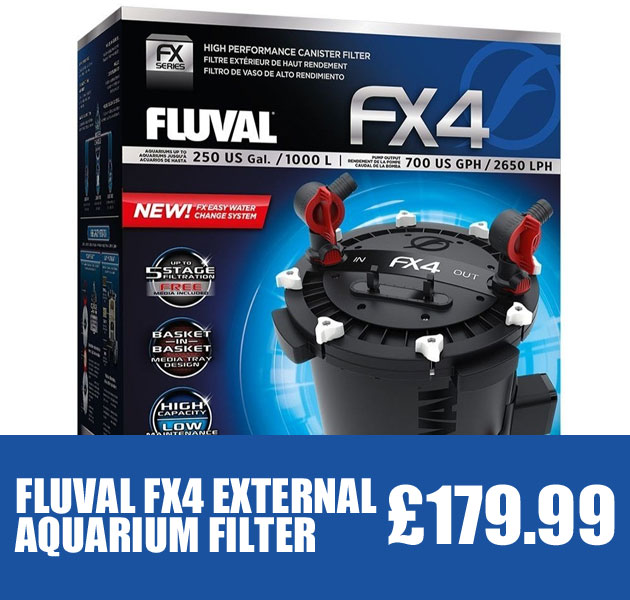Fluval FX4 External Aquarium Filter
