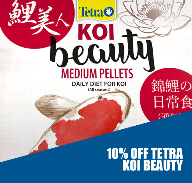 10% OFF TETRA KOI BEAUTY FISH FOOD