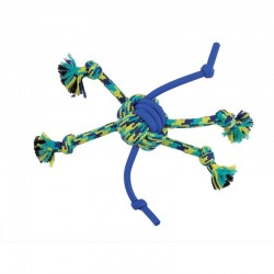 K9 Fitness Rope and TPR Spider Ball - 12in